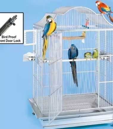 506 European Style Matte Stainless Steel Cage