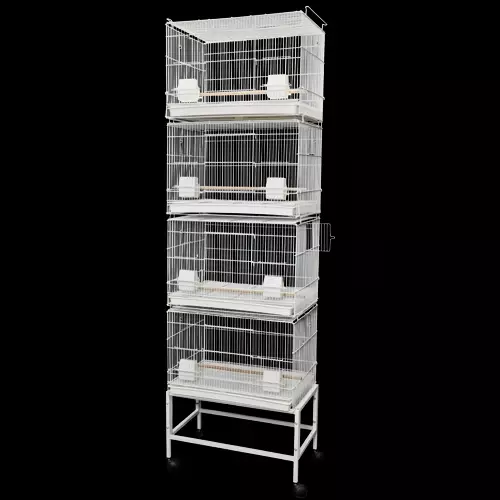 604 Canary/Finch 4 Stackable Breeding Cages
