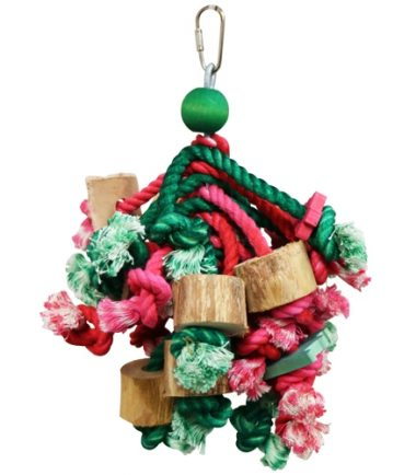 A154 Christmas Ropey Mop MD Holiday Toy