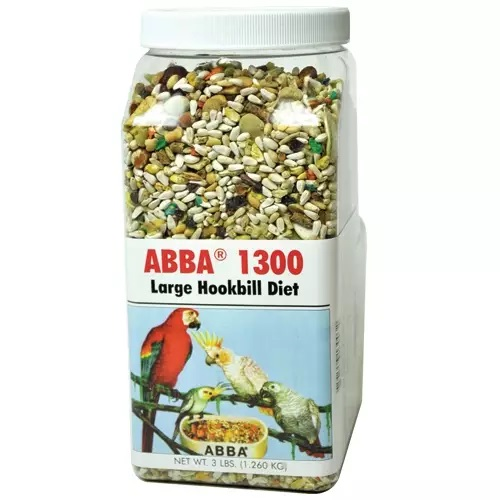ABBA 1300 Lg. Hookbill NO SUNFLOWER bird food