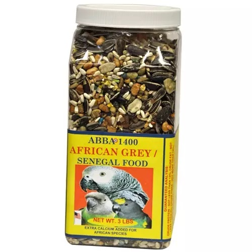 ABBA 1400 African Grey and Senegal bird food