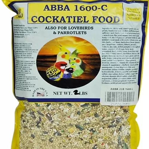 ABBA 1600-C Cockatiel bird food