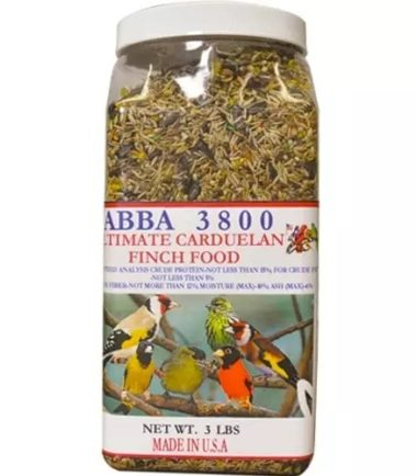 Abba 3800 Goldfinch and Siskin bird food