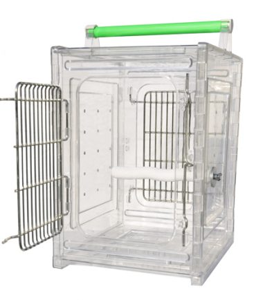 Acrylic Travel Cage Small