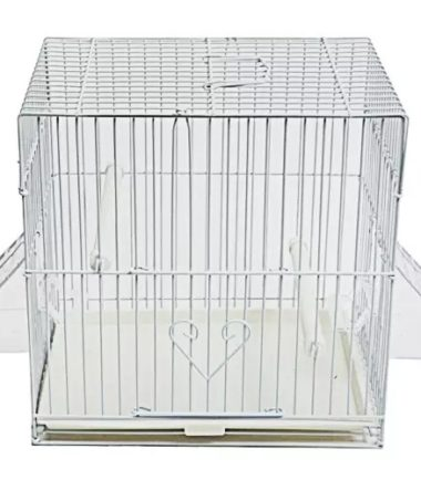 C 10×7 White Canary Cage