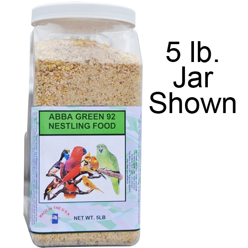ABBA Green 92 Nestling Food