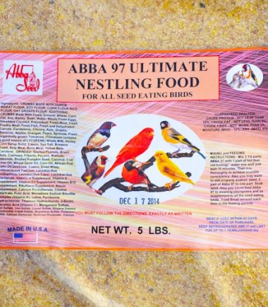 Abba 97 Ultimate Nestling Food Seed Eating Birds