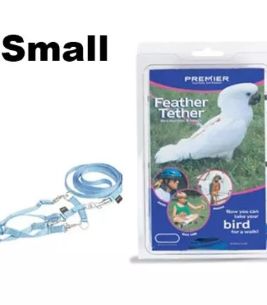 Feather Tether Small – Take Your Bird Outside