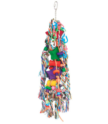 K006 String of Stars Bird Toy