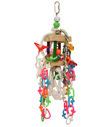 K012 Chain Fall Bird Toy