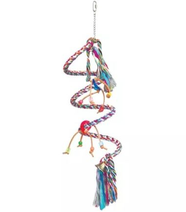 K046 Small Spiral Rope Swing Boing