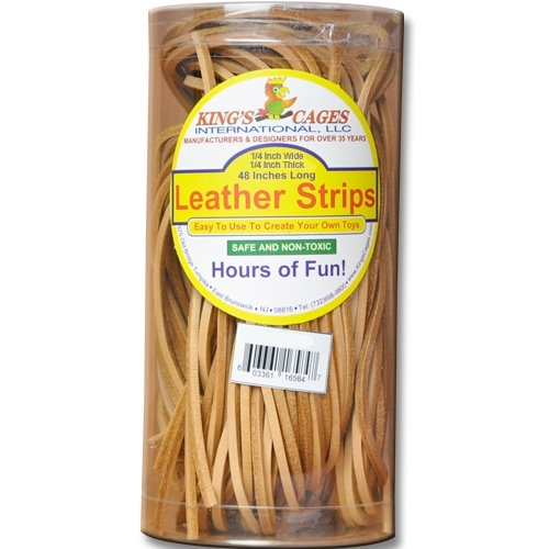 """K583 - 25 Leather Strips 1/4"""""""