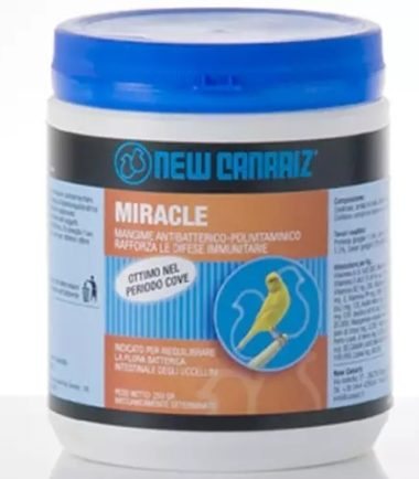 Miracle 250 grams bird Antibacterial and Multi Vitamin