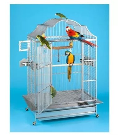 406 European Style Matte Stainless Steel Cage