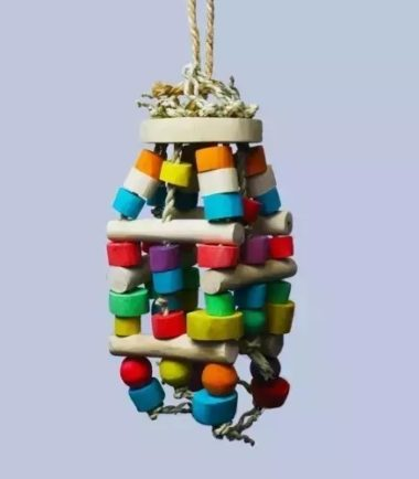 Babel Tower Link K632 natural bird toy