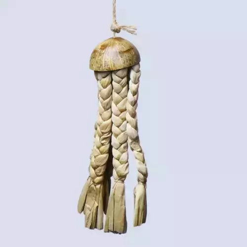 Coco Jellyfish Medium K645 natural bird toy