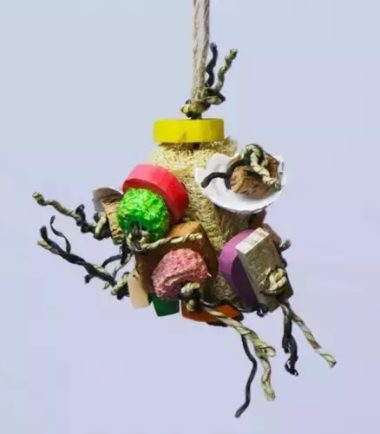 Fun Spongy Small K644 natural bird toy