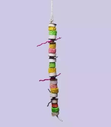 Hang Corn Kebab K630 natural bird toy